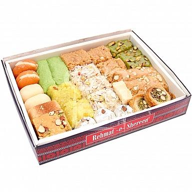 10KG Mix Mithai Box - Rehmat-e-Shereen Sweets