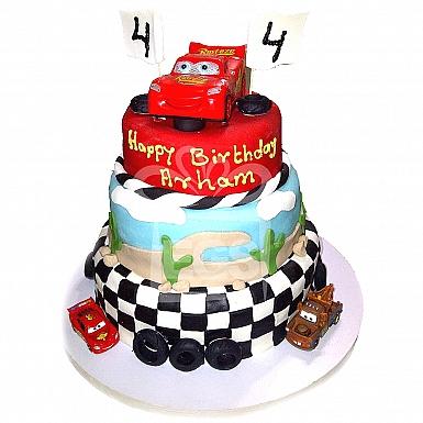 12Lbs Car Track Cake - Armeen
