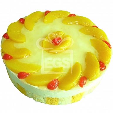 2Lbs Lemon and Peach Desert Cake - Armeen