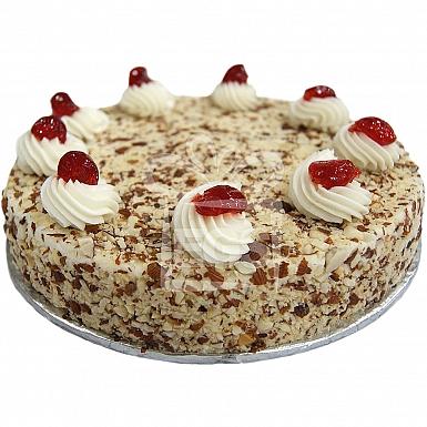 2Lbs Almond Butter Cream Cake - Data Bakers