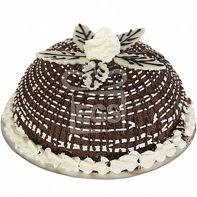 2Lbs Chocolate Ice Cream Bombe Cake - Kitchen Cuisine