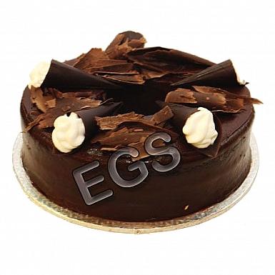 2Lbs Chocolate Dark Cake - Kitchen Cuisine