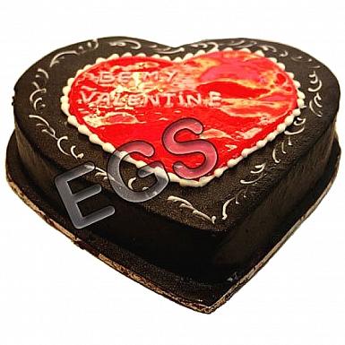 2Lbs Chocolate Heart Cake - PC Hotel