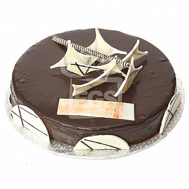 2Lbs Chocolate Truffle Cake - Serena Hotel