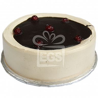 2Lbs Coffee Caramel Mousse Cake - Data Bakers