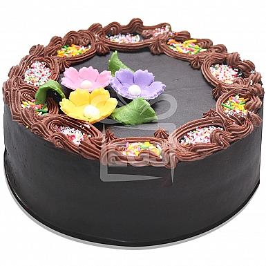 2Lbs Double Chocolate Fudge Cake - Armeen Karachi