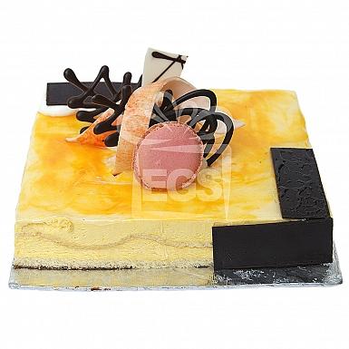 2Lbs Mango Mousse Cake - Serena Hotel