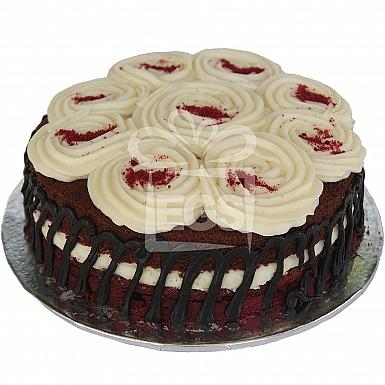 2Lbs Red Velvet Cake - Kitchen Cuisine