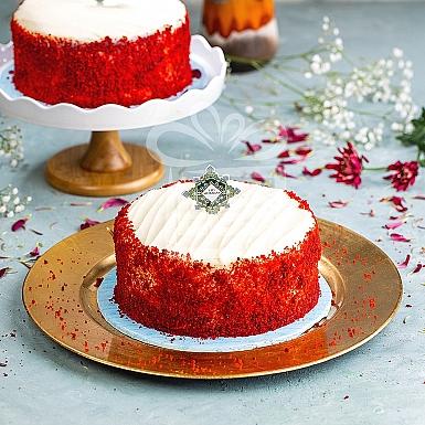 2Lbs Red Velvet Cake - Pie in the sky