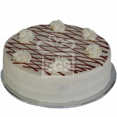 2Lbs Strawberry Sponge Cream Cake - Kitchen Cuisine