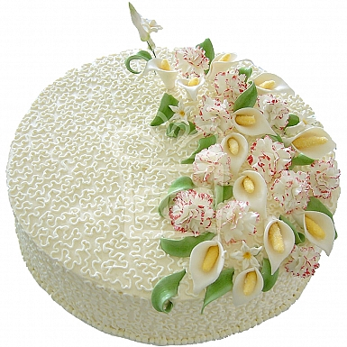 3Lbs Vanilla Crumble Butter Icing Cake - Armeen