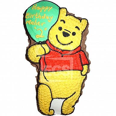 4Lbs Designer Pooh Cake - Armeen