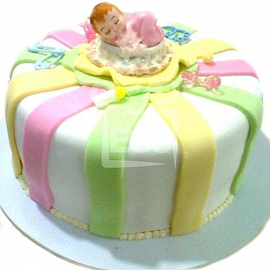 4Lbs Sleeping Baby Theme Cake - Armeen