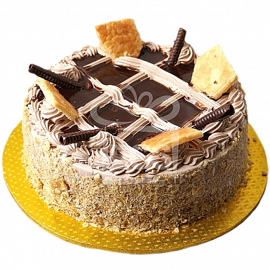 3Lbs Chocolate Wafer Mousse Cake - Tehzeeb Bakers