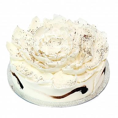 4Lbs White Chocolate Truffle Cake - PC Hotel