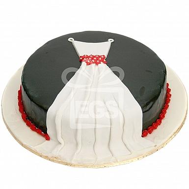 5Lbs Chocolate Fairy Cake - Pie in The Sky