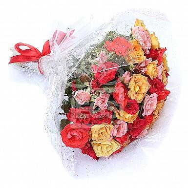 60 Roseful Bouquet