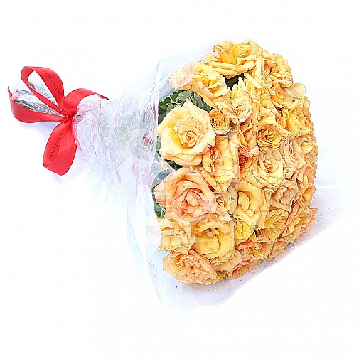 60 Yellow Roses Bouquet