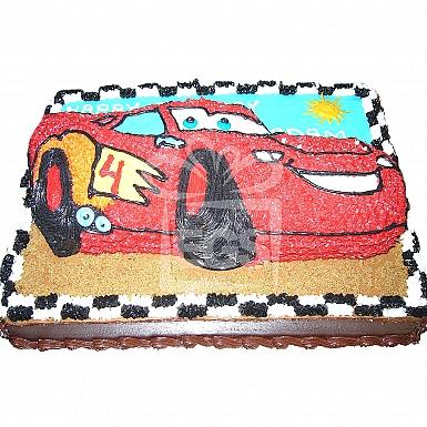 6Lbs Car Rally Themed Cake - Armeen
