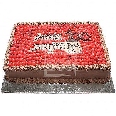 6Lbs Chocolate Cherry Cake - Armeen
