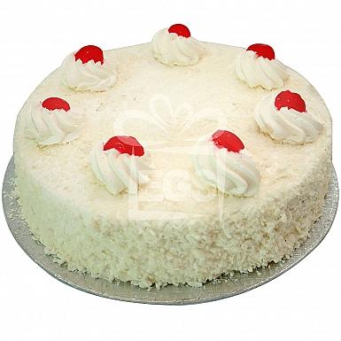 6Lbs Whiteforest Cake - Ramada Hotel