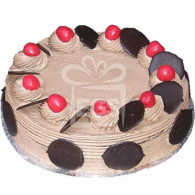 6Lbs Fresh Chocolate Cream Cake - Serena Hotel