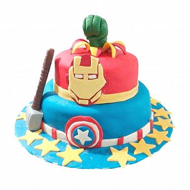 6lbs Avengers Cake - Armeen