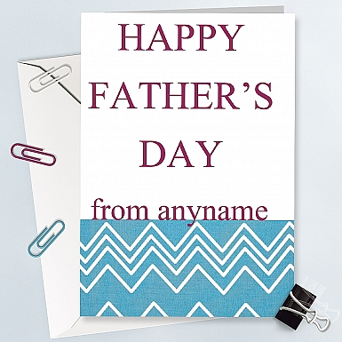 Happy Father Day - Personalised Cards