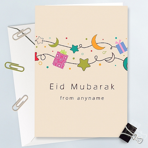 Happy Eid Day - Personalised Card