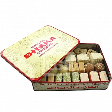8KG Mix Mithai - Dhaka Sweets