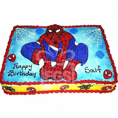 8Lbs Spiderman Themed Cake - Armeen