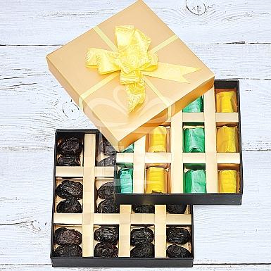 Belgian Chocolate and Ajwa Tower