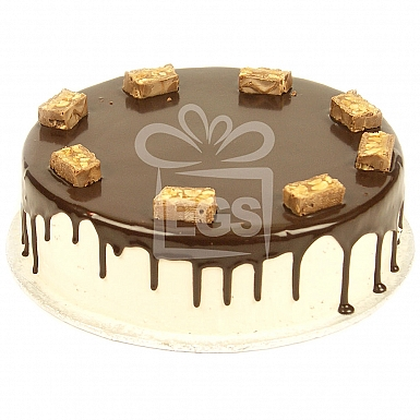 2Lbs Chocolate Snickers Cake - Victoria Lounge