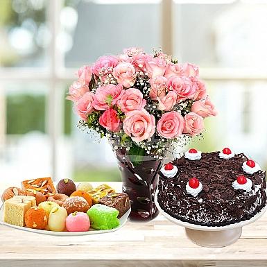 Congratulation Roses Gift