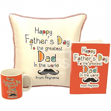 Greatest Dad Personalised Gift