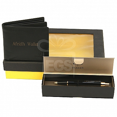 Pen and Wallet Personalised