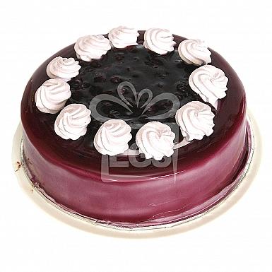 2Lbs Blueberry Sponge Cake - Falettis Hotel