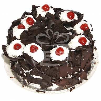 2Lbs Black Forest Cake - Falettis Hotel