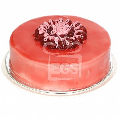 2Lbs Strawberry Sponge Cake - Falettis Hotel