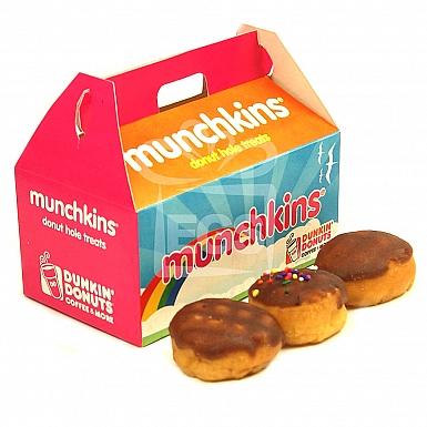 6 Munchkins - Dunkin Donuts