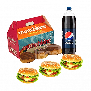Dunkin Donuts Meal Deal For 3