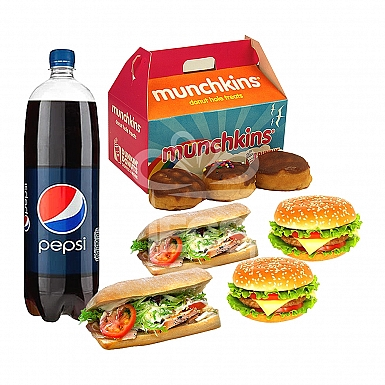 Dunkin Donuts Meal Deal For 4