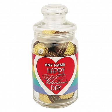 Happy Valentines Day- Ferrero Rocher Jar