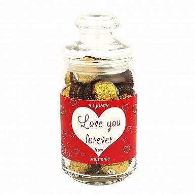 Love You Forever-Ferrero Rocher Jar