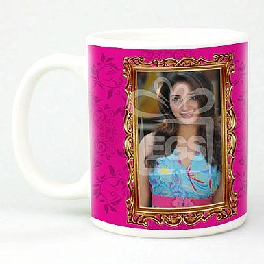 Striking Pink Mug - Personalised Mugs
