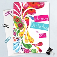 Happy Birthday To You-Greeting Card