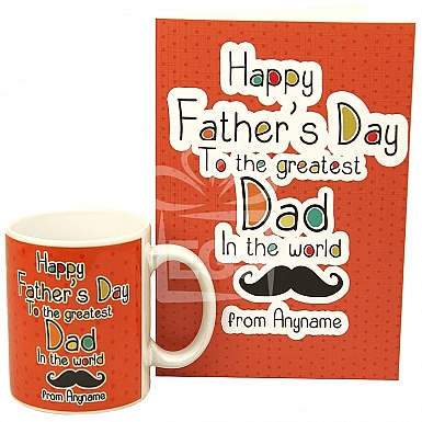 Personalised Great Dad Gift
