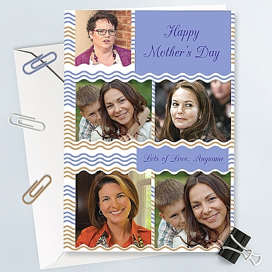 Happy Mother's day Phtoto Collage Card