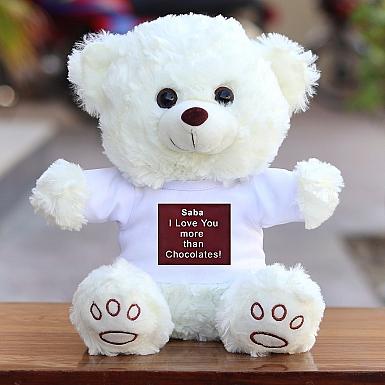 I Love You more than Chocolates Bear