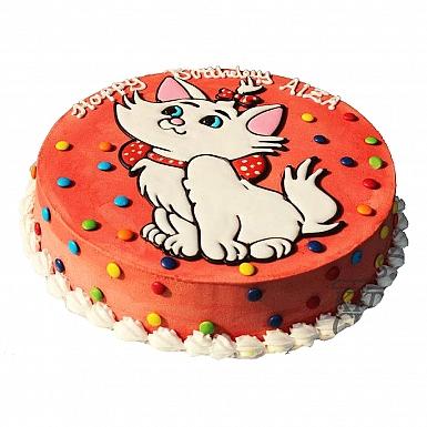 5Lbs Kitty Cat Cake - Kitchen Cuisine